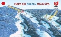 Mapa resortu narciarskiego